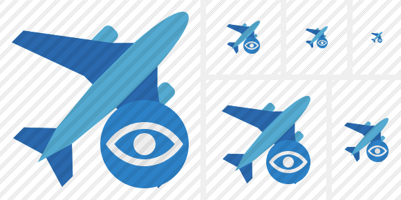 Airplane 2 View Icon