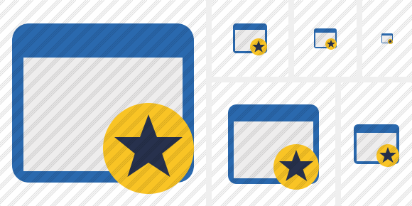 Application Star Icon