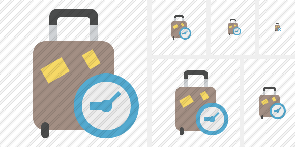 Baggage Clock Icon