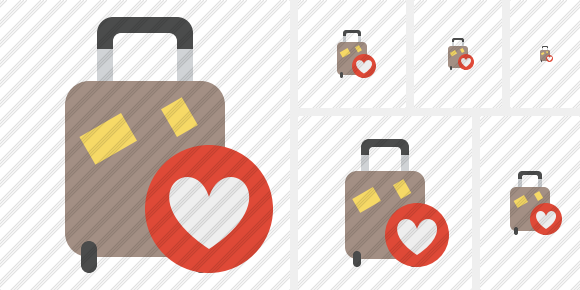 Baggage Favorites Icon
