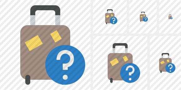 Baggage Help Icon
