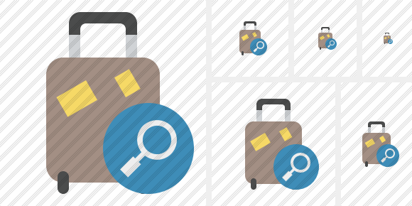 Baggage Search Icon