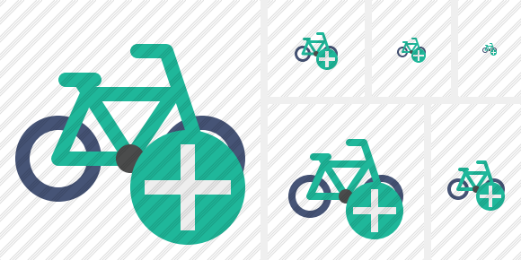 Bicycle Add Icon