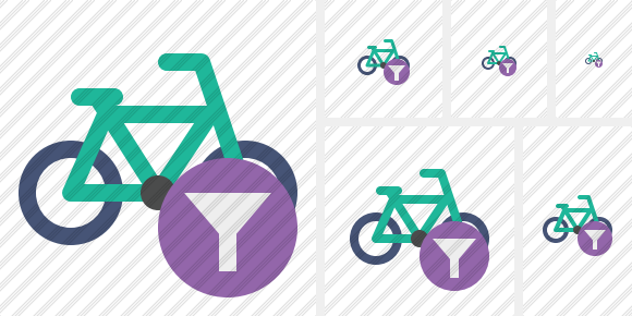 Bicycle Filter Icon
