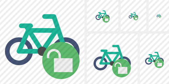 Bicycle Unlock Icon