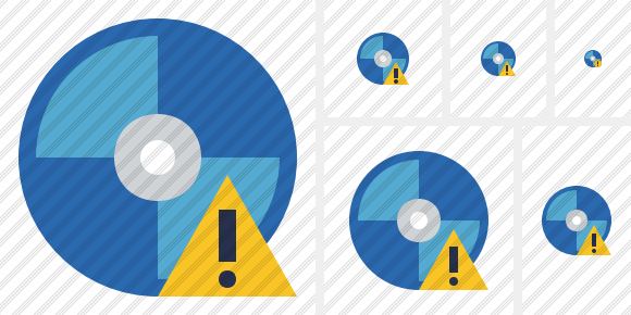 Bluray Disc Warning Icon