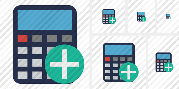 Calculator Add Icon