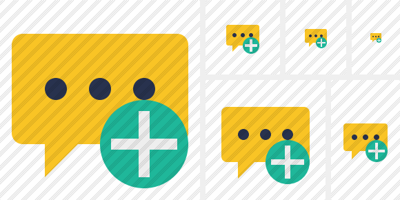 Icone Comment Add