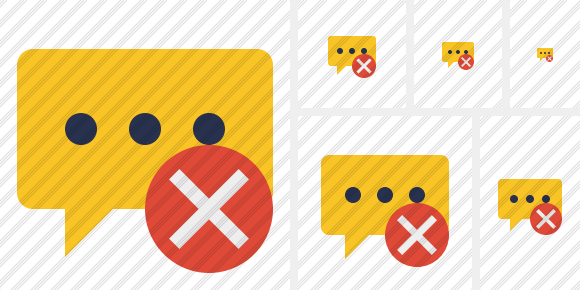 Icone Comment Cancel