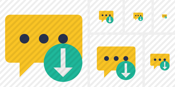 Icone Comment Download