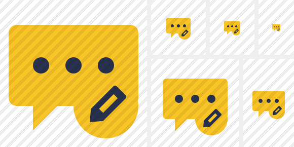 Icone Comment Edit