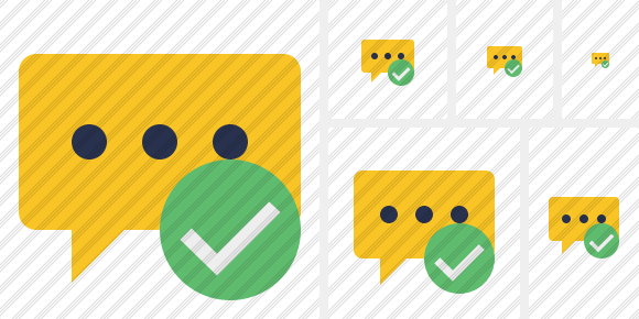 Icone Comment OK