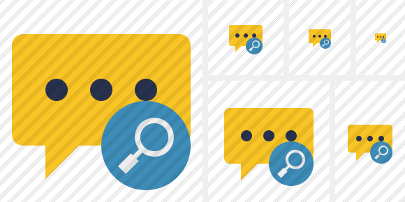 Icone Comment Search