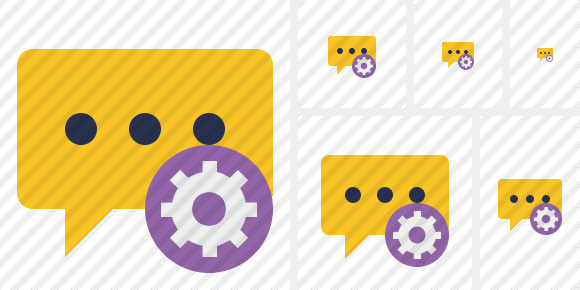 Icone Comment Settings