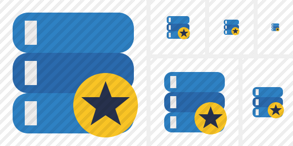 Database Star Icon