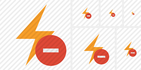 Flash Stop Icon