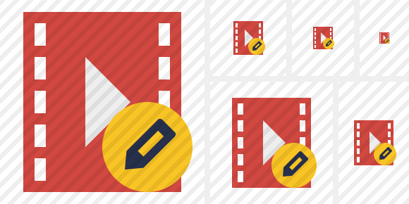 Movie Edit Icon