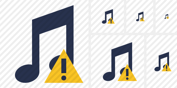 Music Warning Icon