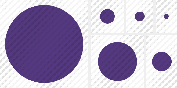 Point Purple Icon