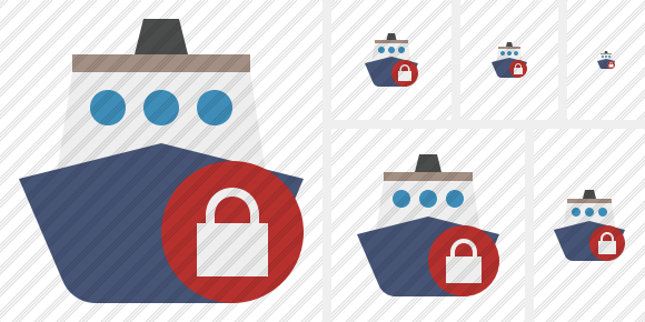 Ship 2 Lock Icon