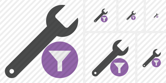 Spanner Filter Icon