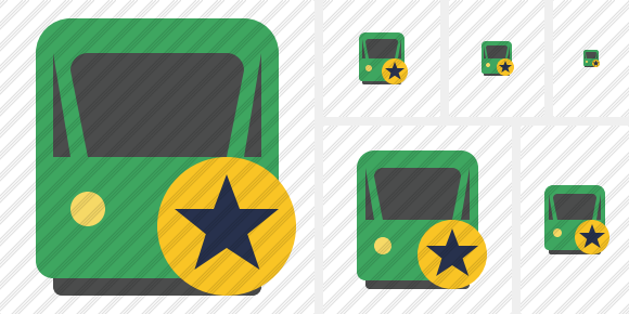 Train 2 Star Icon
