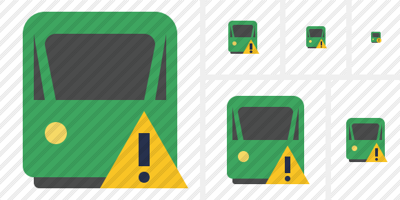 Train 2 Warning Icon