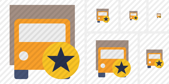 Transport 2 Star Icon