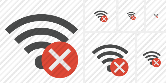 Wi Fi Cancel Icon