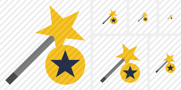 Wizard Star Icon