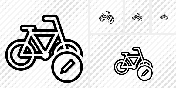Bicycle Edit Icon