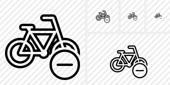 Bicycle Remove Icon