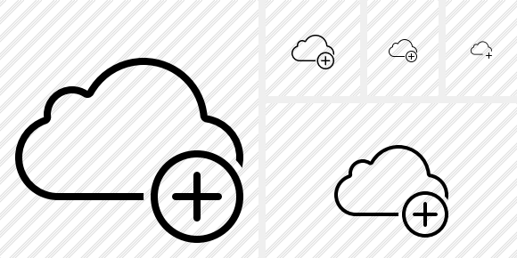 Cloud Add Icon