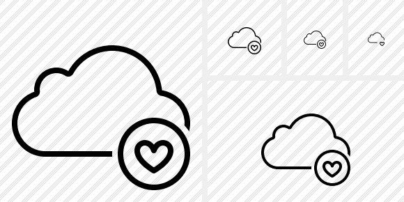 Cloud Favorites Icon