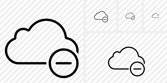 Cloud Remove Icon