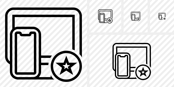 Devices Star Icon