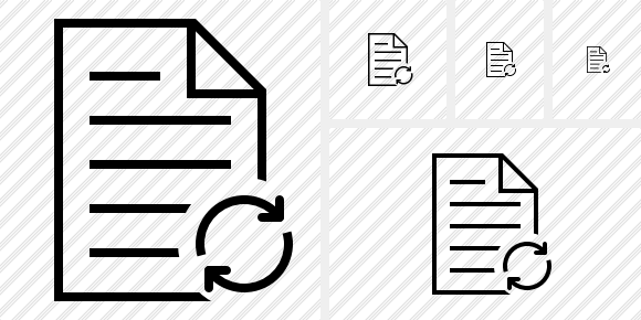 Document Refresh Icon