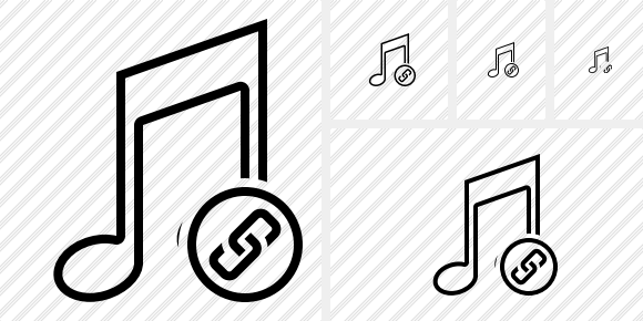 Music Link Icon