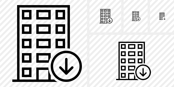 Office Building Download Icon