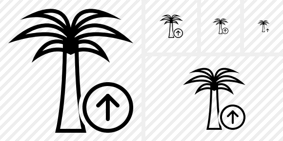 Palmtree Upload Icon