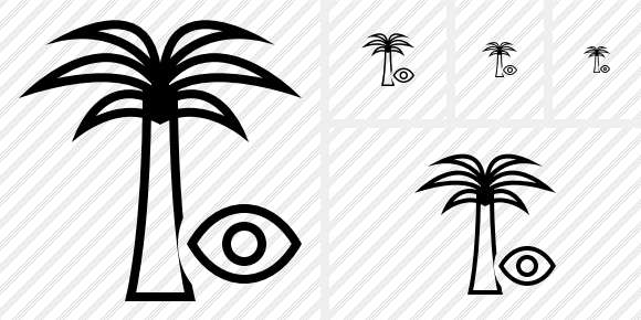 Palmtree View Icon