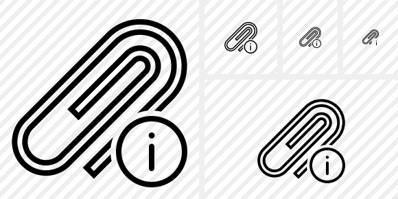 Paperclip Information Icon