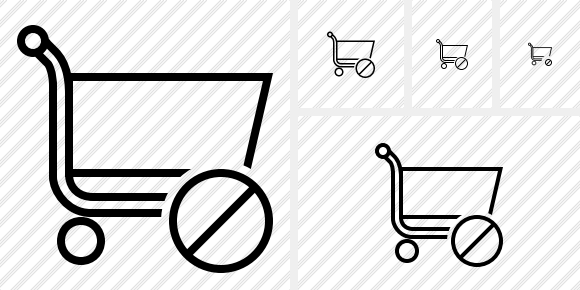 Shopping Block Icon