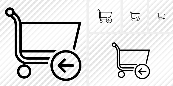 Shopping Previous Icon