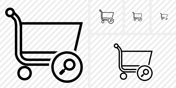 Shopping Search Icon