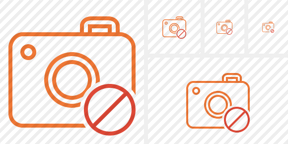 Photocamera Block Icon