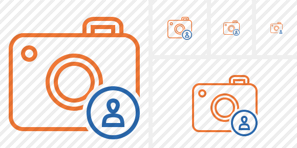 Photocamera User Icon