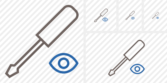 Screwdriver View Icon