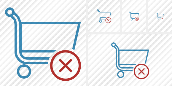 Shopping Cancel Icon