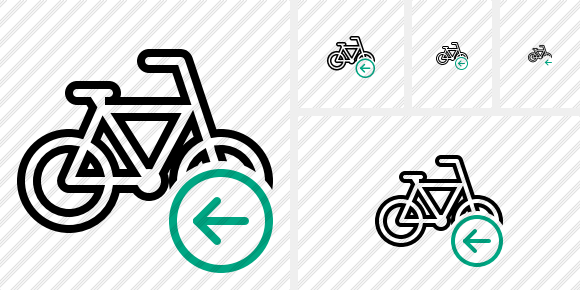 Bicycle Previous Icon